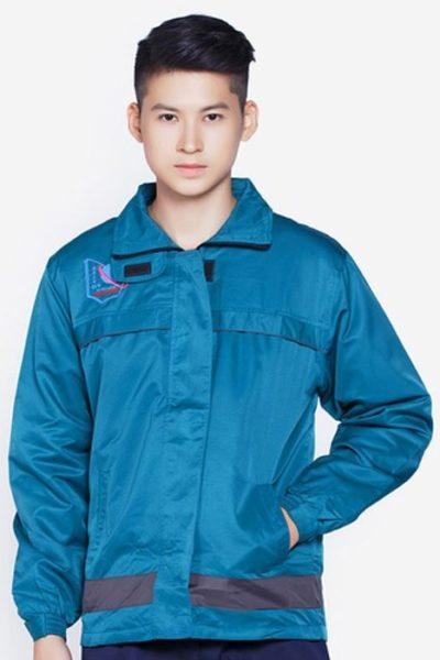 Đồng phục học sinh sinh viên – Áo khoác học sinh màu xanh   17