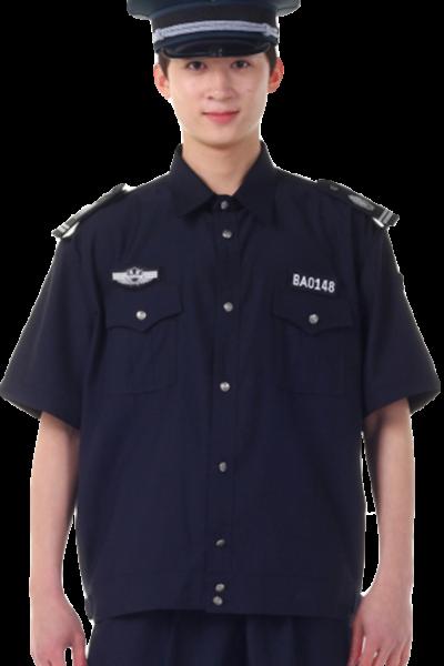 Đồng phục bảo vệ vệ sĩ – Quần áo bảo vệ vệ sĩ áo sơ mi đen quần tây đen 32