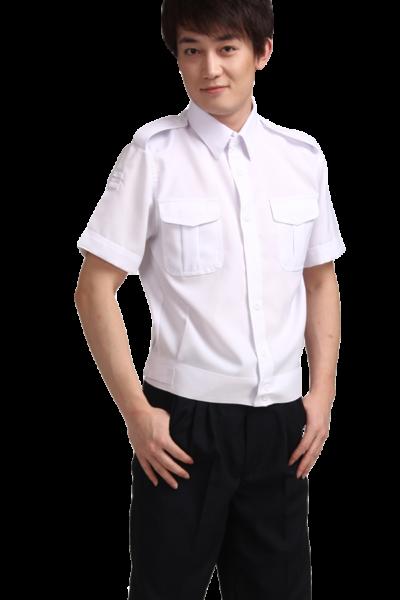 Đồng phục bảo vệ vệ sĩ – Quần áo bảo vệ vệ sĩ áo sơ mi trắng quần tây đen 38