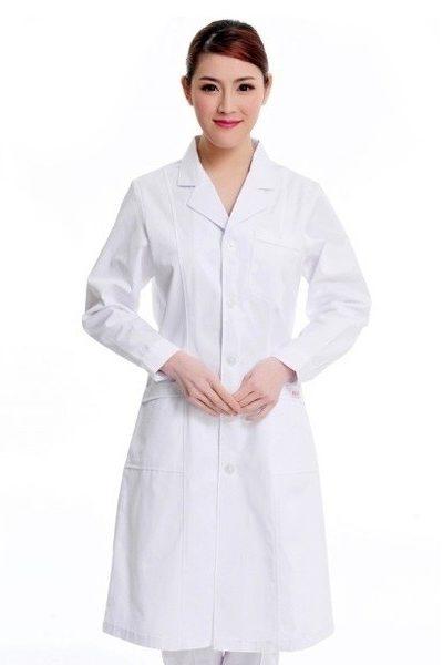 Đồng phục bệnh viện – Đồng phục áo blouse màu trắng 27