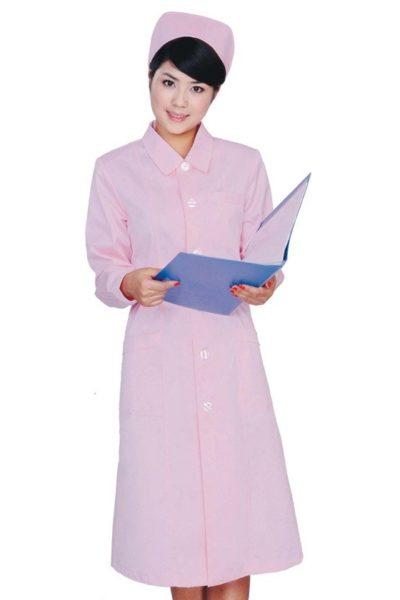 Đồng phục bệnh viện – Đồng phục y tá màu hồng 50
