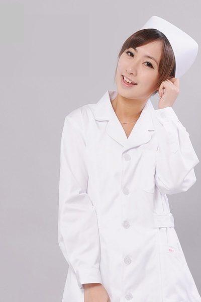 Đồng phục bệnh viện – Đồng phục y tá màu trắng 51