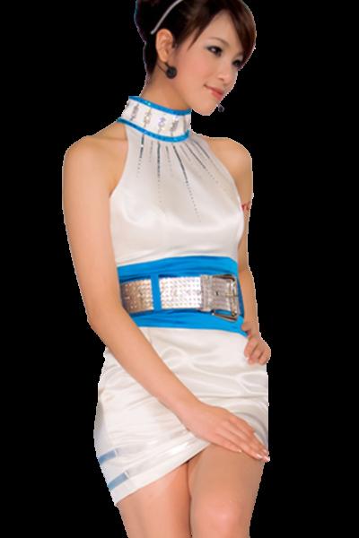 Đồng phục PG màu trắng viền xanh 29