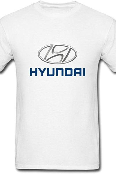 Đồng phục áo thun – Áo thun cổ tròn Hyundai màu trắng 20