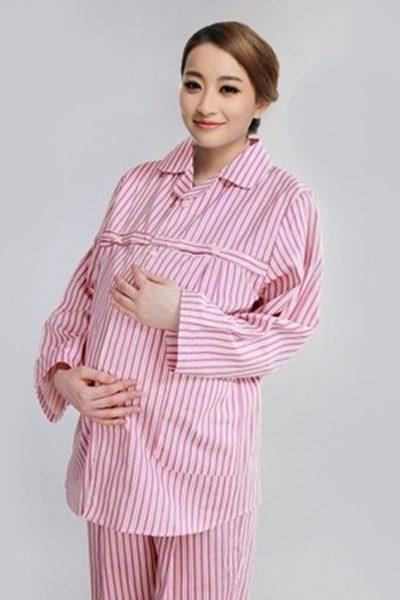 Đồng phục bệnh viện – Đồng phục bệnh nhân dài tay màu hồng 57