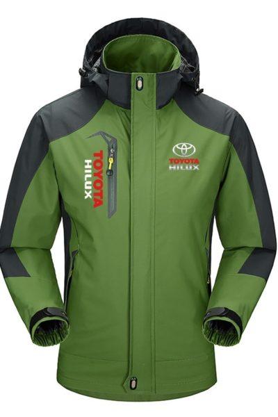Đồng phục áo khoác – Áo khoác gió có nón Toyota 31