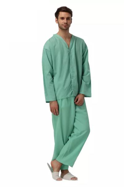 Đồng phục bệnh viện – Đồng phục bệnh nhân màu xanh lá 69