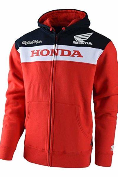 Đồng phục áo khoác – Áo khoác gió màu đỏ phối xanh dương 104