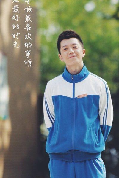 Đồng phục học sinh sinh viên – Áo khoác học sinh màu xanh nhạt phối trắng 38