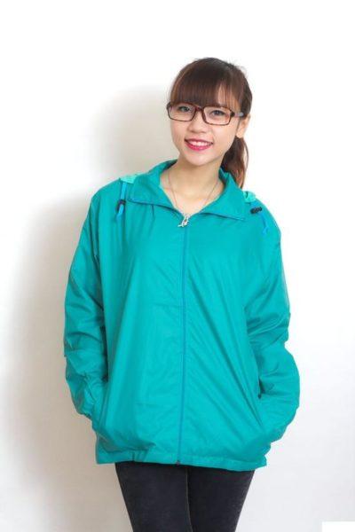 Đồng phục học sinh sinh viên – Áo khoác học sinh màu xanh lá cây 36