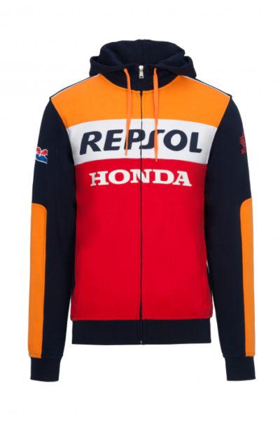 Đồng phục áo khoác – Áo khoác gió Honda có nón màu đỏ phối cam 110