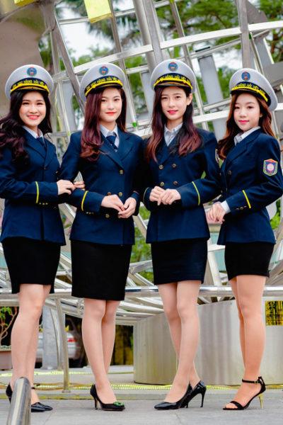 Đồng phục học sinh sinh viên – Đồng phục sinh viên Đại học Hàng hải 35