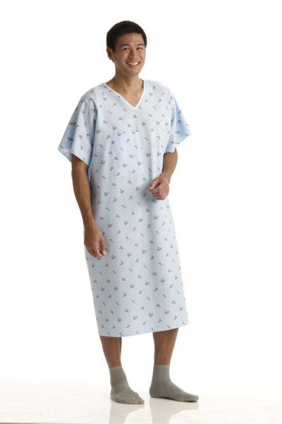 Đồng phục bệnh viện – Đồng phục bệnh nhân màu trắng họa tiết 73